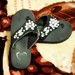 BeBe girls sandals size(M) 13-1